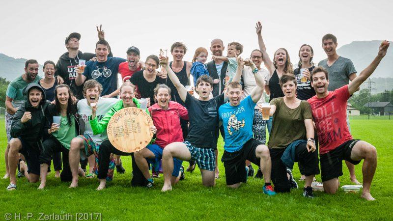 Wiener Mischung ist österr. Staatsmeister Ultimate Frisbee - Mixed 2017