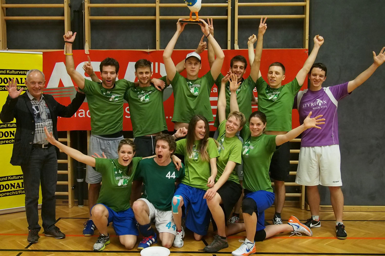 Turniersieg bei der FcDonald Trophy